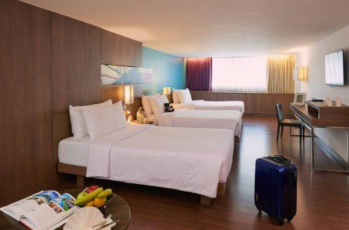 Bangkok hotel family suite